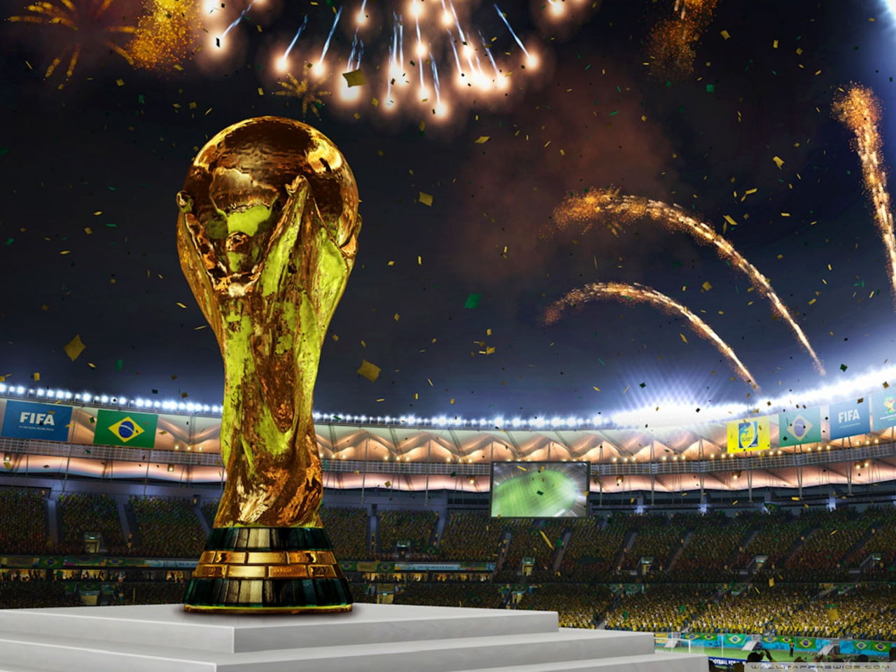 Wallpapers of FIFA World Cup 2014 Collection