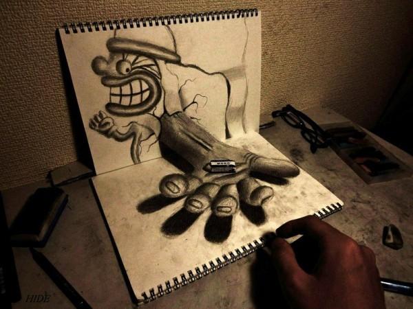 Beautiful 3D Pencil Art Collection 2014