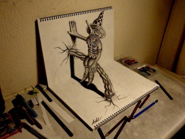 Beautiful 3D Pencil Art Collection 2014