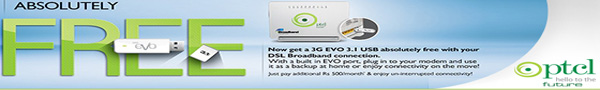 PTCL gives free EVO 3.1 to all DSL Broadband Customers