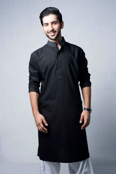 Latest Bonanza Kurta Salwar Suit Design for Men (2)
