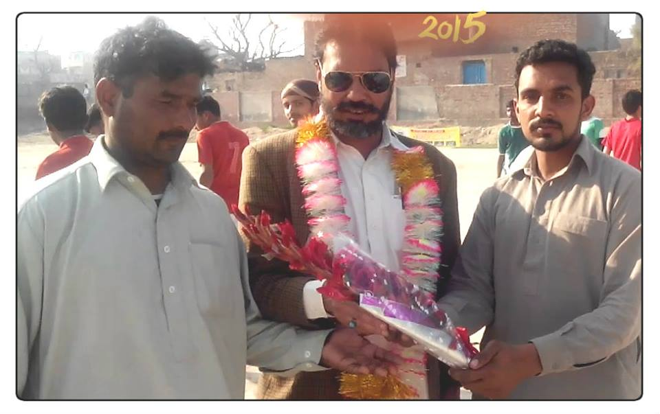 Shah Muqaddas at Gangapur Hocky Match 14.2.2015