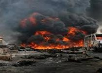 Gas pipeline highly blown up in Dera Bugti