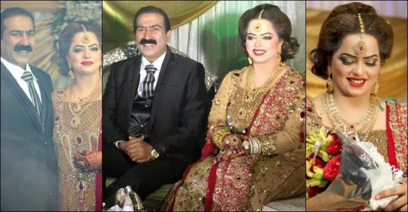 Madiha Shah with her Husband