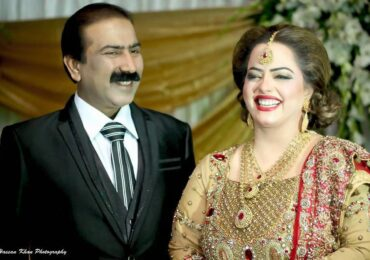 Madiha Shah with Husband