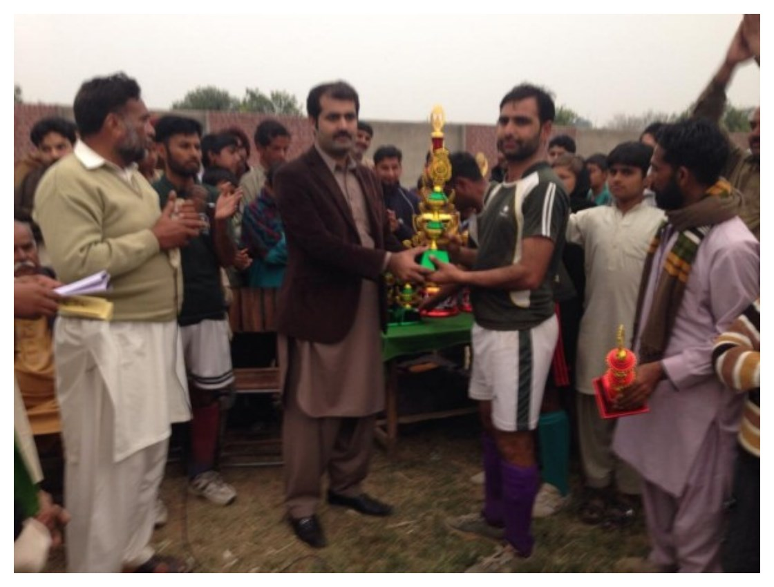 Pictures of Sufi Noor Hussain Tahiri's Hockey Tournament