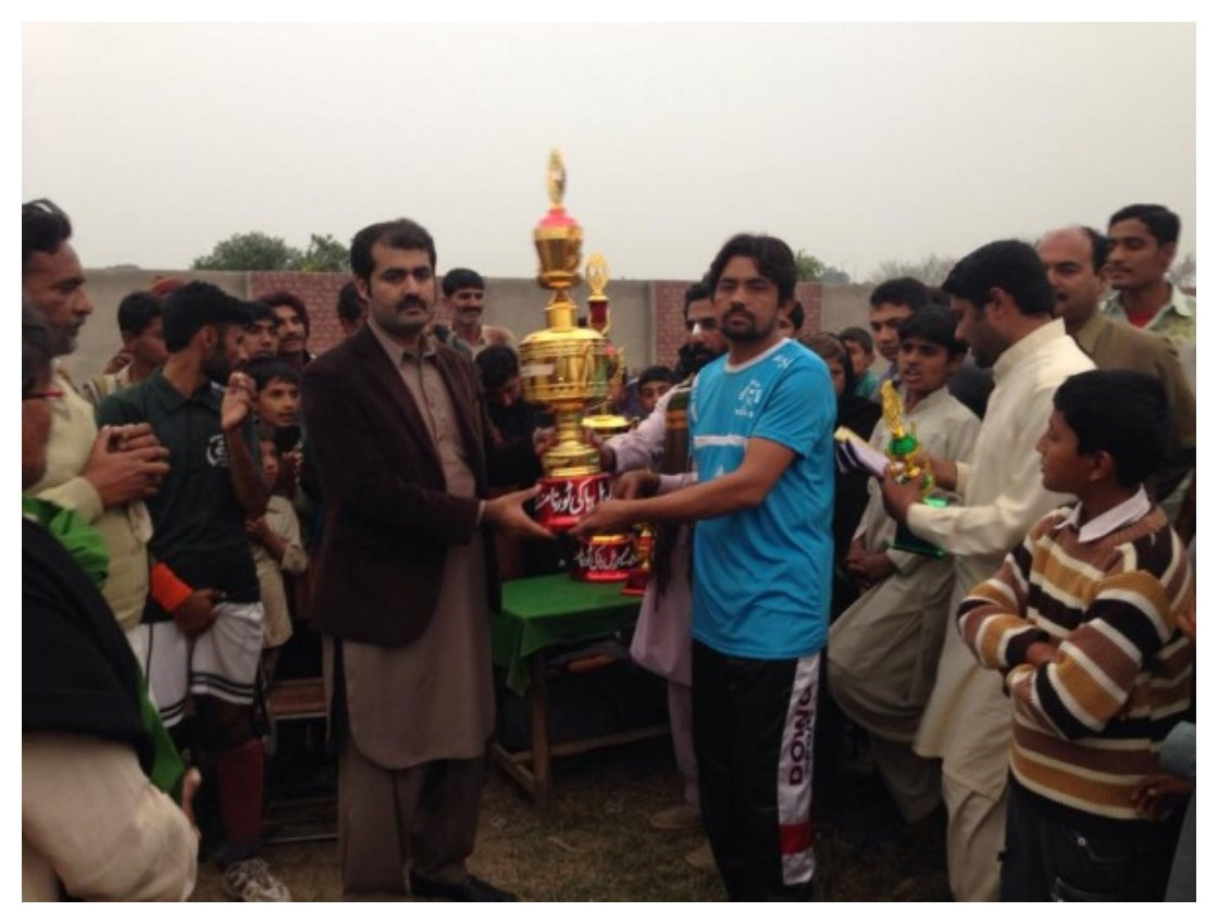 Sufi Noor Hussain Tahiri's Hockey Tournament at Chak no 591 GB all Pictures