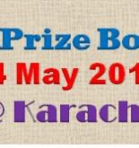 Rs.7500 Prize Bond Draw Full List Karachi 4 May