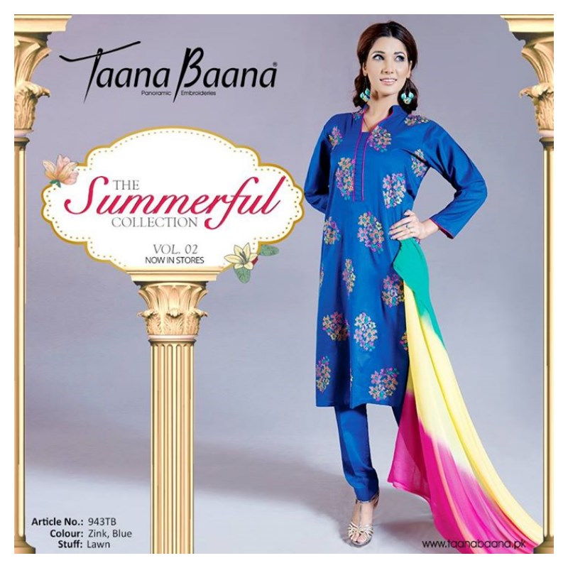 Taana Baana Party Wear Dresses 2015 (2)