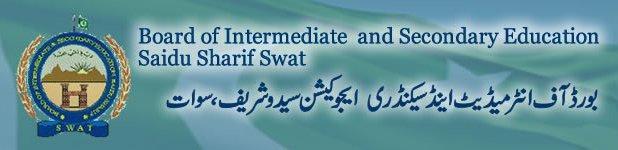 BISE Swat Board Matric (SSC) Result 2018