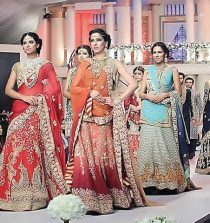 Karachi Mughal style with oriental wedding fashion dresses show