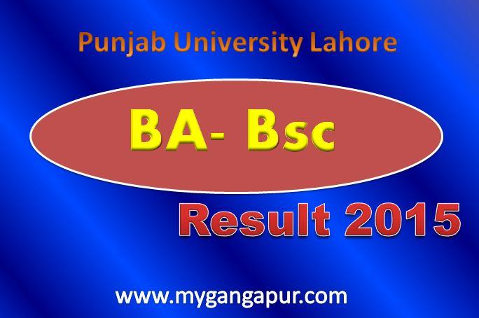 Punjab University Lahore PU Results 2017
