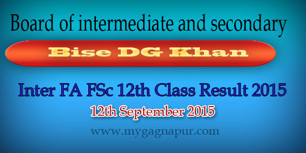 Fa Result 2015 BISE DG Khan Board