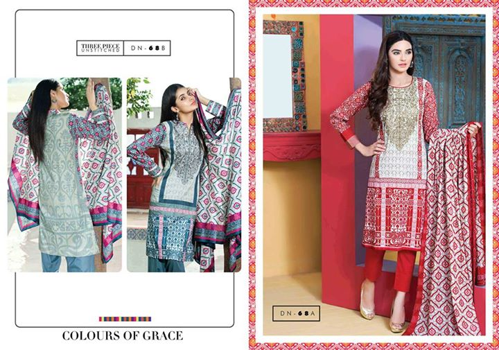 Satrangi Cambric exclusive eid ul Azha Lawn Collection 2015 By Bonanza (7)