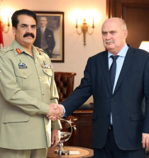 Army Chief meets Turkish Foreign Minister |