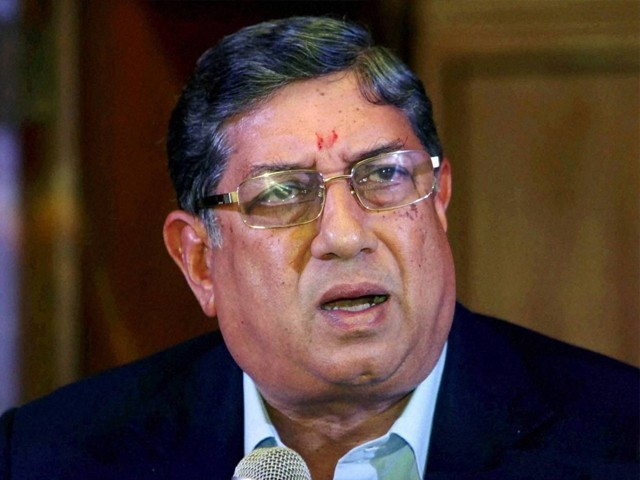 BCCI may remove N Srinivasan as ICC chairman