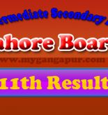 11th Class Result 2015 BISE Lahore Board