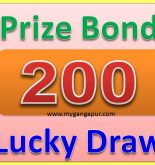 Rs 200 Prize Bond List Draw