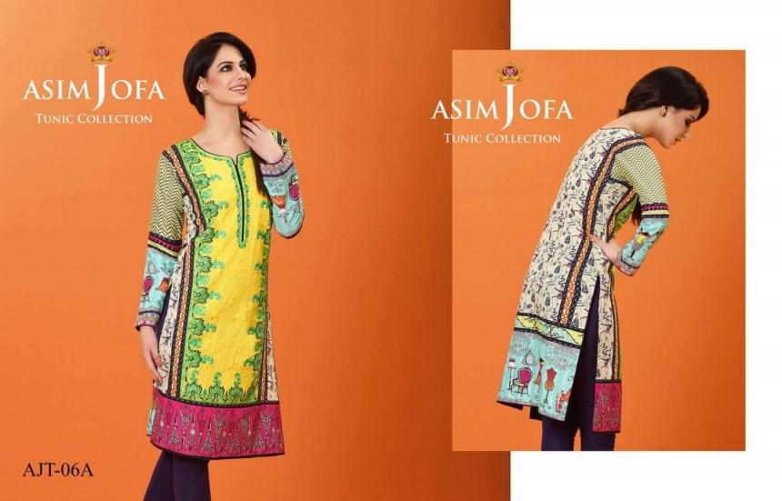 Asim Jofa Tunic Collection 2016