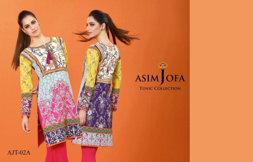 Asim Jofa Tunic Kurti Spring Summer dresses 2021