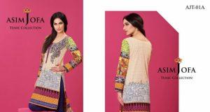 Asim Jofa Tunic Collection 2016-17