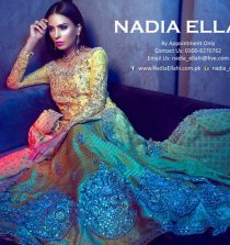 Nadia Ellahi Bridal Winter Collection 2016 Embroidered with price