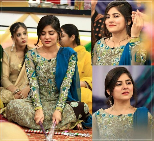 Sanam Baloch at her Brother's Mehndi (2)