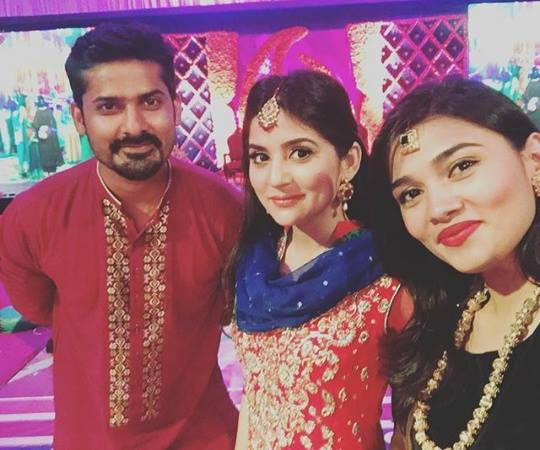 Sanam Baloch at her Brother's Mehndi & Wedding Pictures (1)