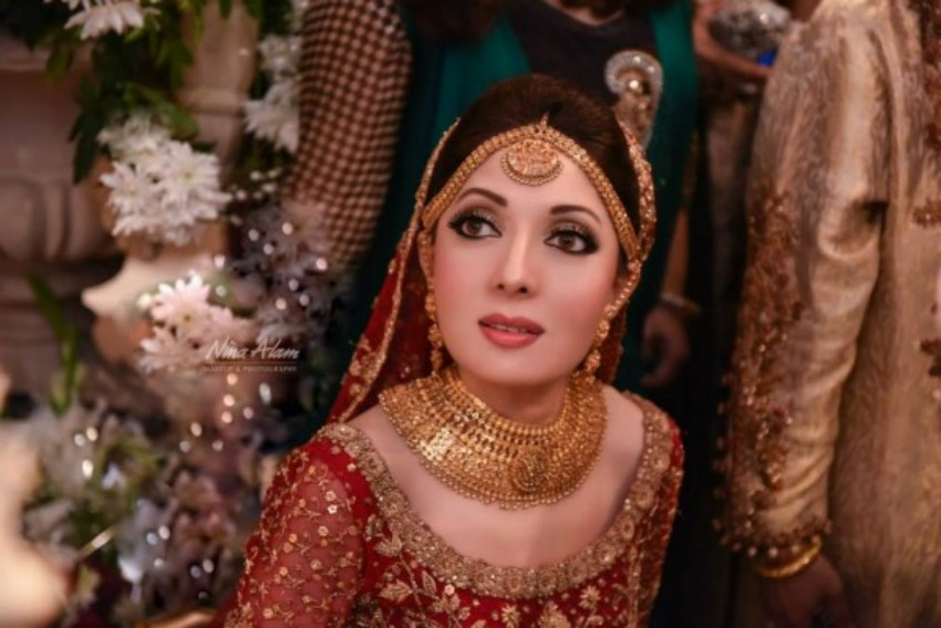 Sharmila Farooqi Wedding hot Pictures - Shadi Nikkah Photos (1)