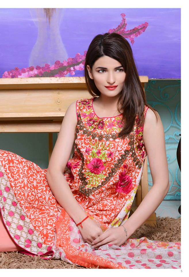 ZS Textiles Kalyan Lawn Designer Embroidered Collection 2016
