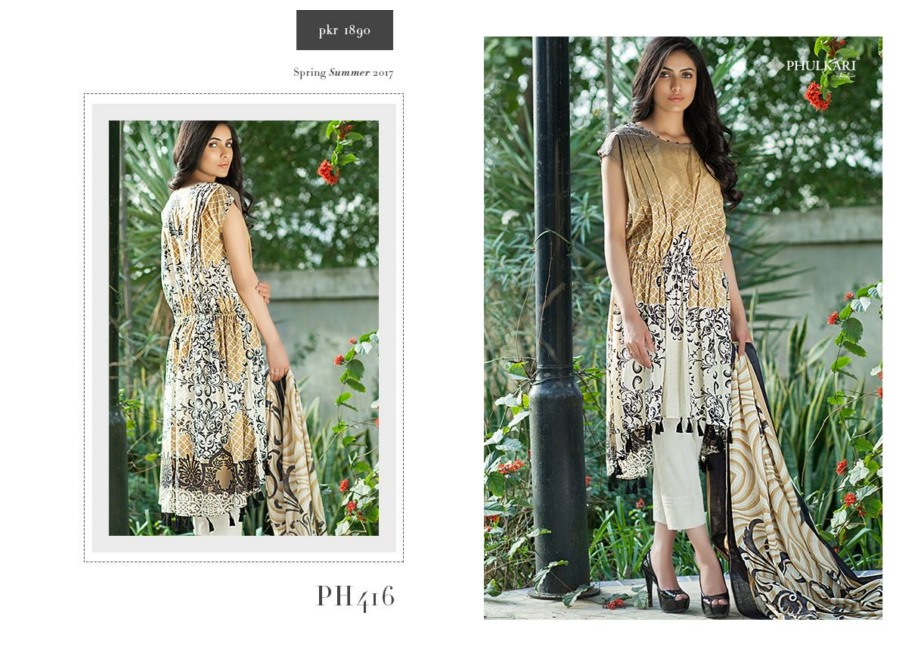 Taana Baana Phulkari spring summer Collection 2017 2018 (2)