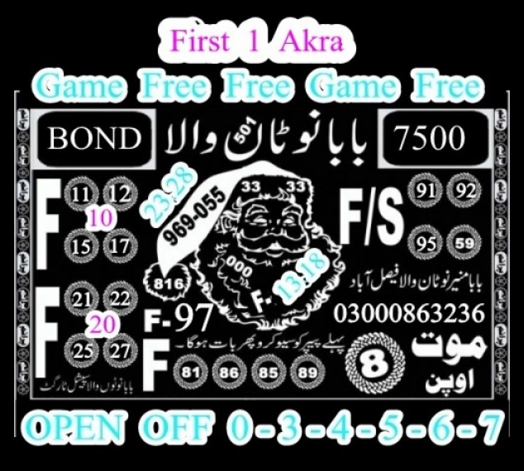 Prize Bond 7500 Guess Papers 02 May 2017 City Faisalabad (3)