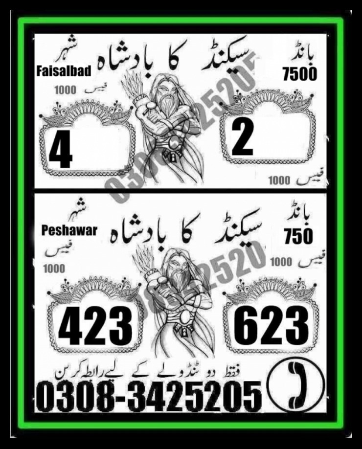 Prize Bond 7500 Guess Papers 02 May 2017 City Faisalabad (4)