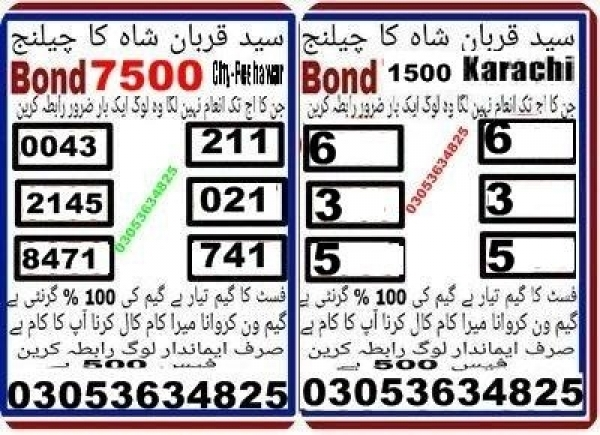 Rs, 1500 Prize bond Guess Papers Karachi 15.02.2018 (16)