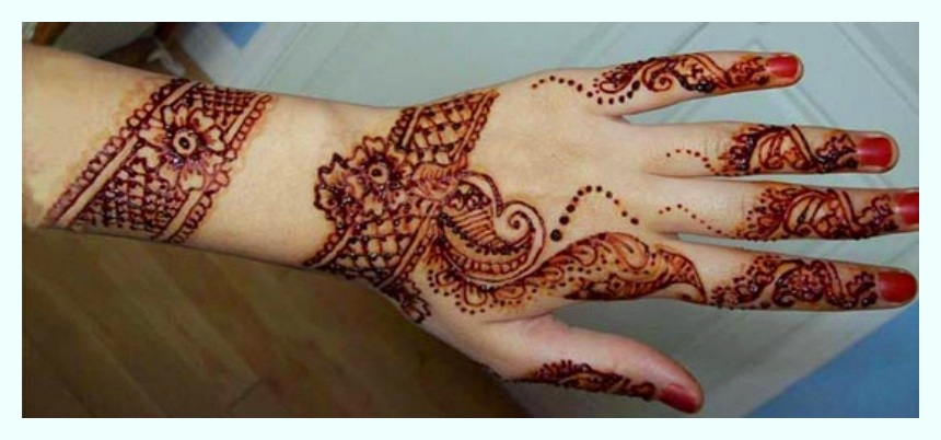 Mehndi Designs fancy