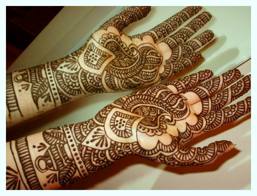 beautiful pakistani fancy mehndi designs