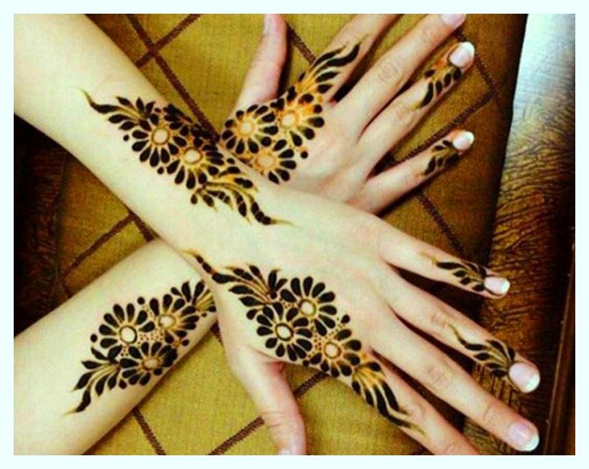 Fancy Mehndi Designs For Beautiful for Girls (1)