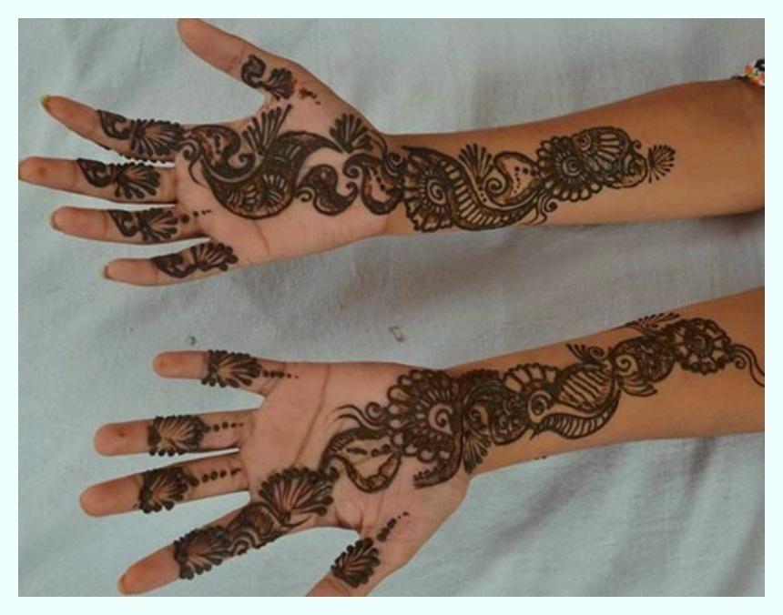 Fancy Mehndi Designz