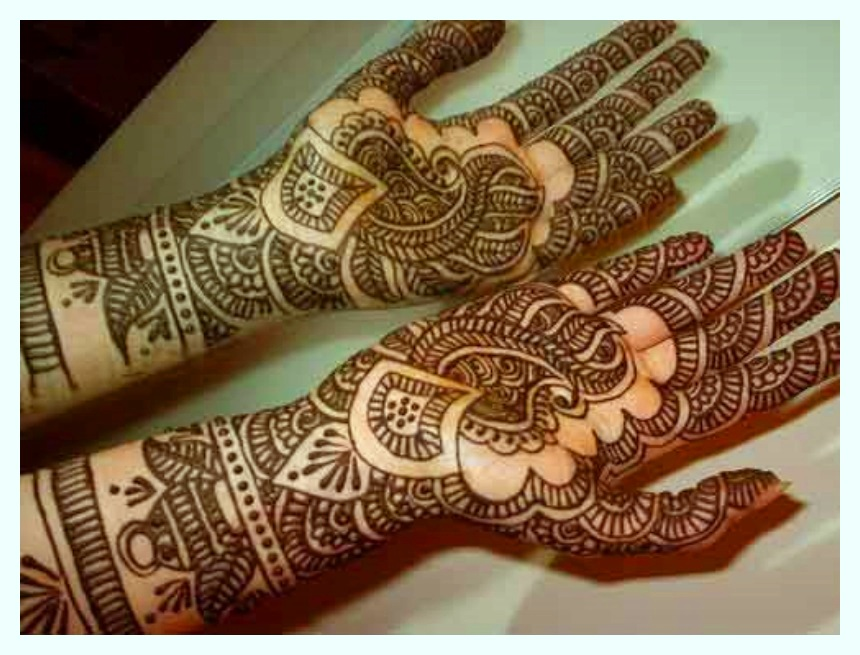 Top Bridal Beautiful Hands Mehndi Designs