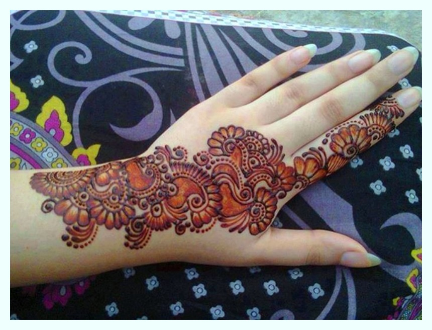 New and Fancy mehndi designs