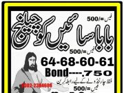 Baba Sayein 750 Prize bond Guess Papers 2018