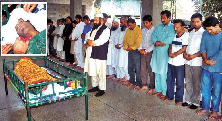 Babbu Baral Funeral Image