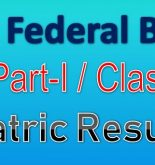 FBISE SSC Part I (9th Class) Result 2018