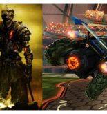 Comparison between Dark Souls 3 & Rocket League