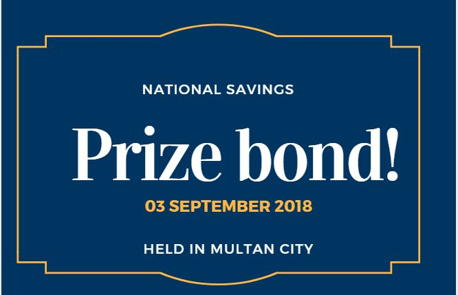 Draw 73, Rs. 40000 Prize Bond List, Multan On 03-09-2018 Results
