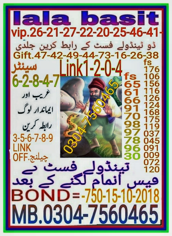 sijawal Rs. 750 Prize Bond Guess Papers