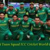 Pakistan Team Squad ICC Cricket World Cup 2019