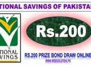 Prize bond 200 list 2020