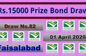 Prize Bond Rs. 15000 Full List Result 01 April 2020