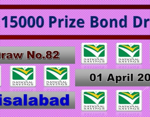 Prize Bond Rs. 15000 Full List Result 01 April 2020